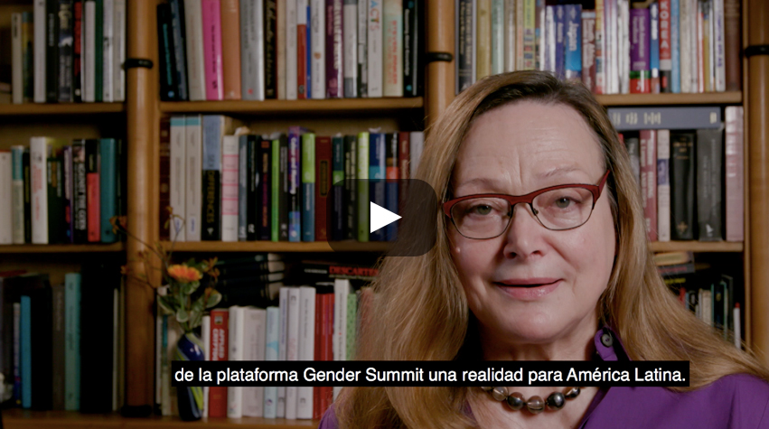 Launch video for Gender Summit GS12 Chile